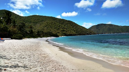 Guana Island: White Bay Beach