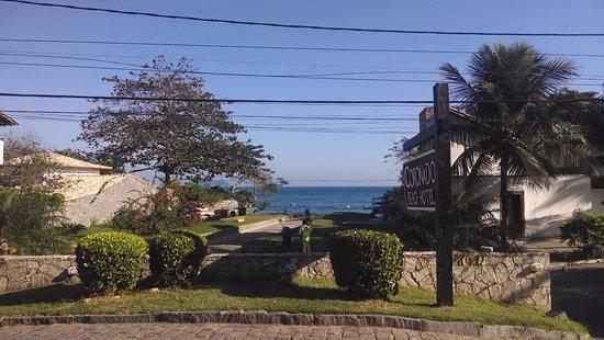 Coronado Beach Hotel: Entrad del hotel vista al mar
