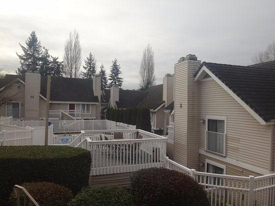 Residence Inn Seattle Bellevue: Vista dede mi habitación