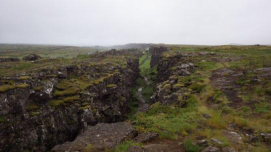 Thingvellir, ไอซ์แลนด์: Gorgeous scenery