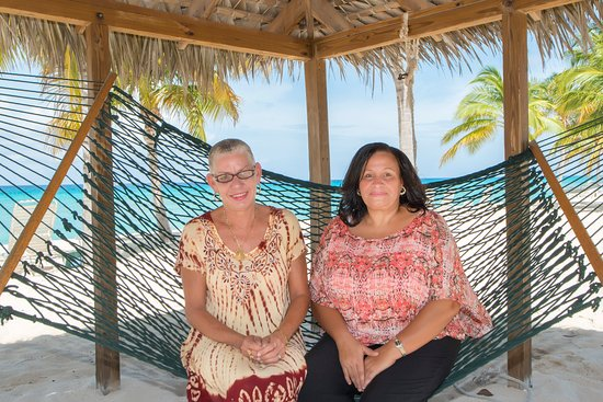 Silver Sands: The Office: Oleta and Gwenda
