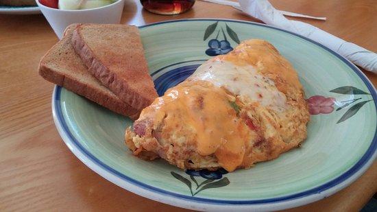 Hurricane, Utah: Spanish omelet