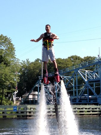 Lifted Flyboarding