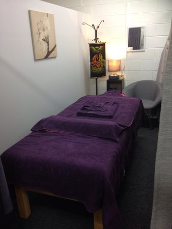 Enjoy your own space in the quiet massage clinic with