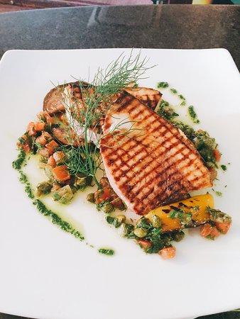 Ennis, Irlanda: Swordfish dish