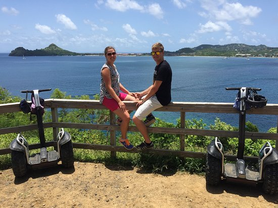 Gros Islet, Sta. Lucía: Great view of Rodney Bay