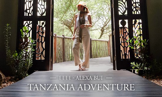Arusha, Tanzania: Alexa Bui's Tanzania Adventure with Amani Afrika on Elle Magazine