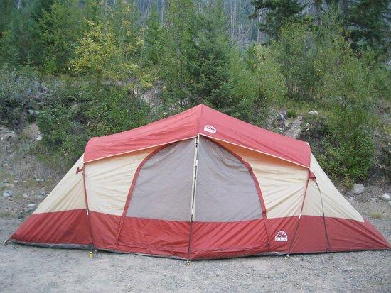 Manning Park, Canadá: Our tent.