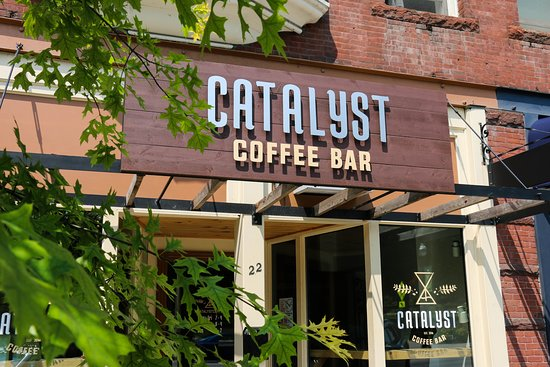 Saint Albans, Vermont: Our coffee house is nestled in the beautiful downtown district.