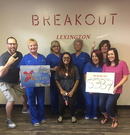 Breakout Games - Lexington