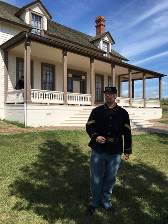 Custer House: Great tour.