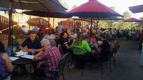 Evergreen, CO: Patio Dining