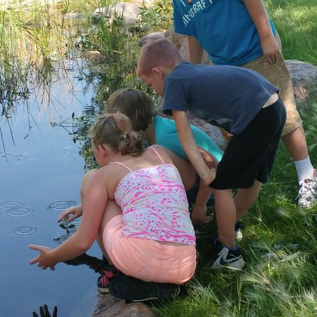 Fountain, CO: Old fashioned creek fun! Great park for exploring with kiddos