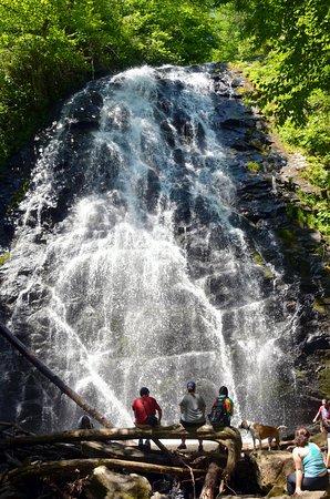 Burnsville, Karolina Północna: Crabtree Falls @ Crabtree Falls Campground