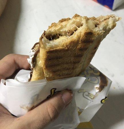 Tasty kafta sandwich