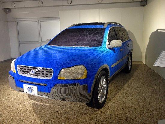 volvo car made out of lego blocks bild fr n volvo museum g teborg tripadvisor. Black Bedroom Furniture Sets. Home Design Ideas