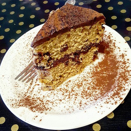 Rosendale, estado de Nueva York: Vegan Mocha Cake and Apple Crumble
