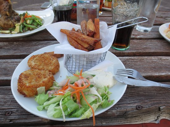 Lochcarron, UK : Fish cakes