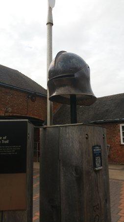 Sutton Cheney, UK: Helmet