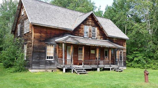 Chambord, Canada: Une maison ouvrière à Val Jalbert