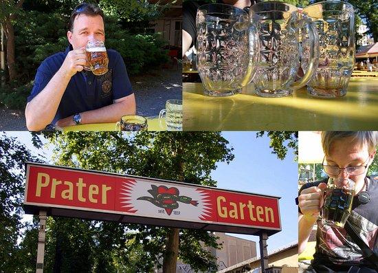 Prater Garten: Relaxed een biertje of een colaatje drinken met een ...