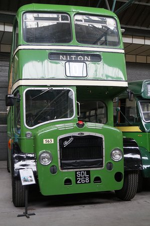 Isle of Wight Bus Museum: An old Bristol.