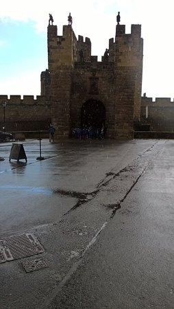 Alnwick, UK: They'll never take our freedom!