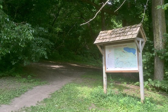 Winona, MN: Holzinger Lodge Trail Head