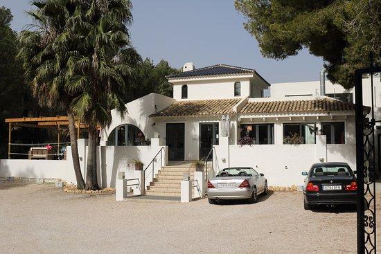 Altea la Vella, Spain: the premises