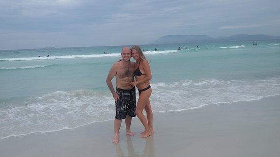 Forte Beach: arenas blancas