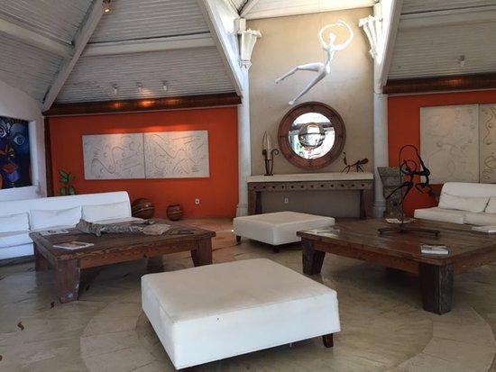 Perola Buzios Hotel: Lobby