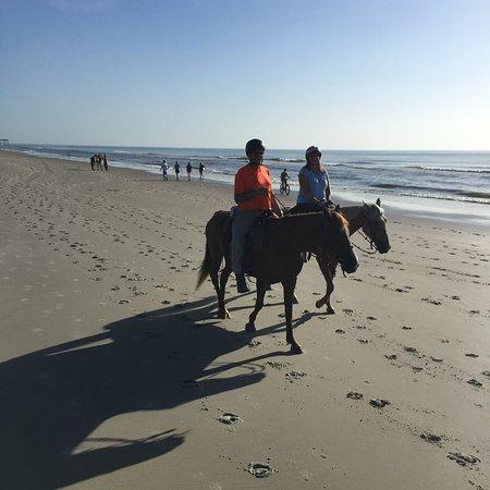 Fernandina Beach, Flórida: Had a great ride on the beach this morning!