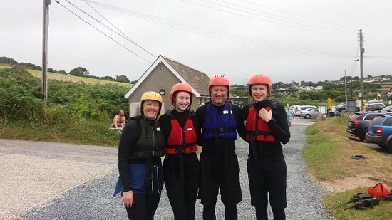 Kernow Coasteering: Exhausted!
