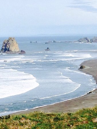 Port Orford, Oregón: Cape Blanco Lighthouse and Surrounds