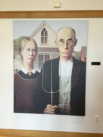 Models At The American Gothic House Center