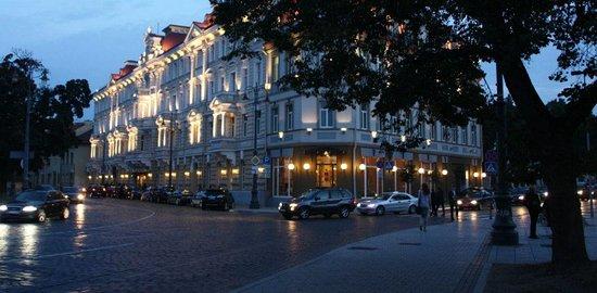 "Vilnius City Tour : Restaurant ""Telegrafas"""