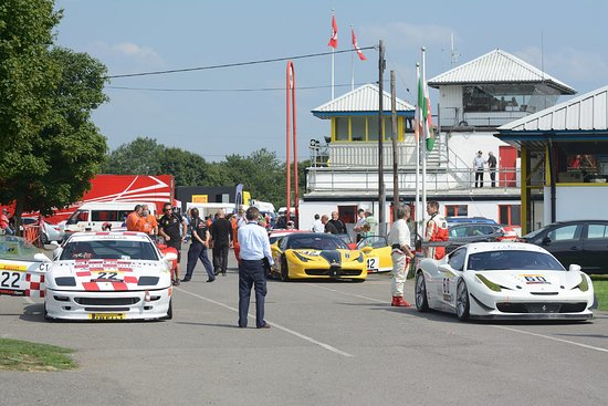 Castle Combe Circuit: The paddock usually has some interesting machinery.