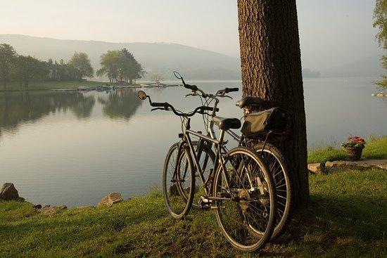 McHenry, Μέριλαντ: Lake Pointe Inn Bikes