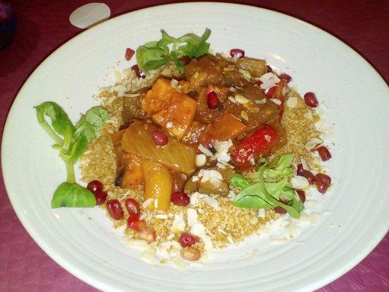 Restaurante Vegetariano: Tajin vegano