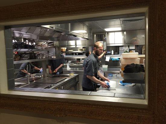 Restaurant Kitchen Window kitchen - picture of rocksalt restaurant, folkestone - tripadvisor