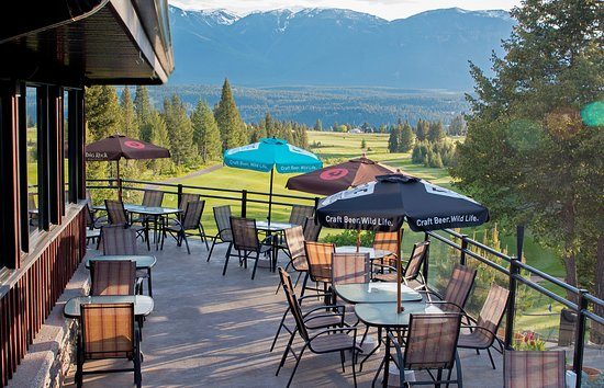 Invermere, Канада: Beautiful views from our patio