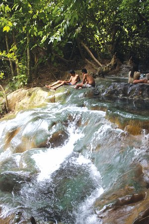 Khlong Thom, Tajlandia: natural pool about 6 pool it is far from aonang about 1 hrs drive