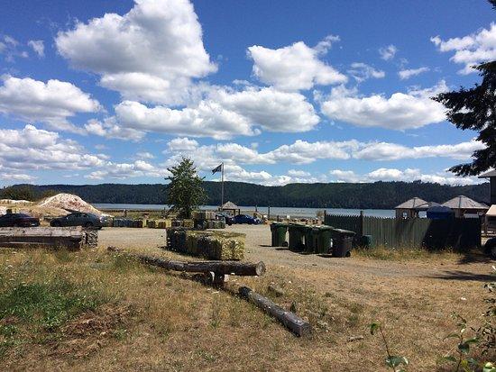 Lilliwaup, Вашингтон: Oyster beds on Hood Canal