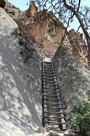 Bandelier National Monument : The climb to Alcove House