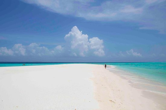 Four Seasons Resort Maldives at Landaa Giraavaru: Playa de Blu