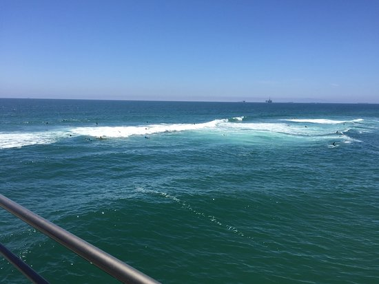Huntington Beach, CA: Ocean from the Pier
