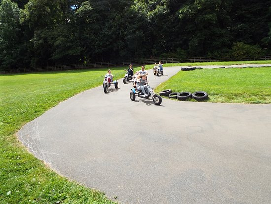Wetherby, UK: Pedal trikes
