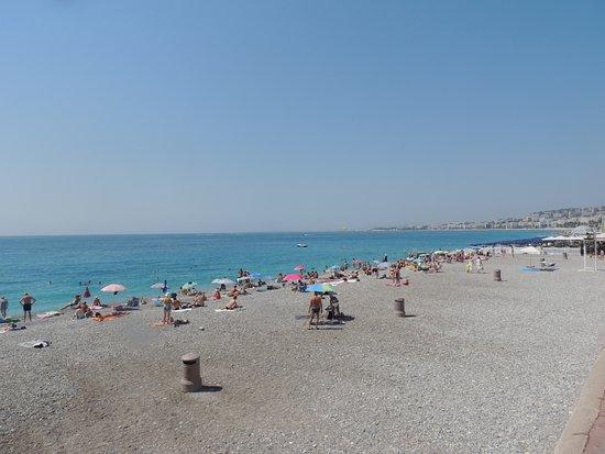 Promenade des Anglais: Plage de Nice