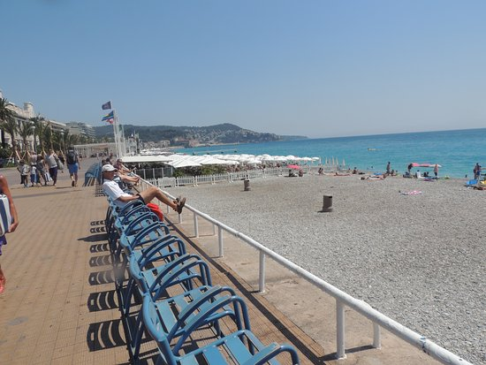 Promenade des Anglais: Partie piétonne