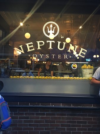 Neptune Oyster: Although the restaurant is small and doesn't take reservations it's worth the wait.